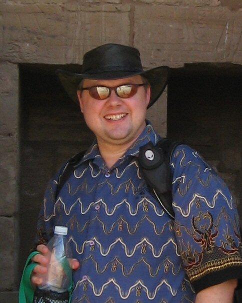 Ferret at Karnak
