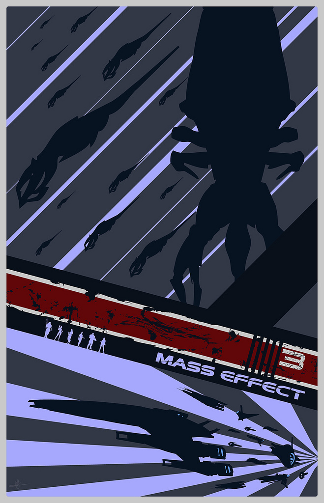 Mass Effect 3 Poster by Firespray1138