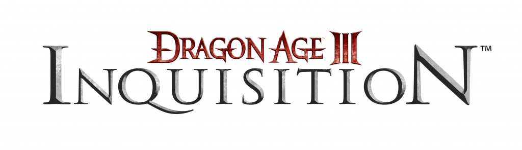 Dragon Age 3 Logo White