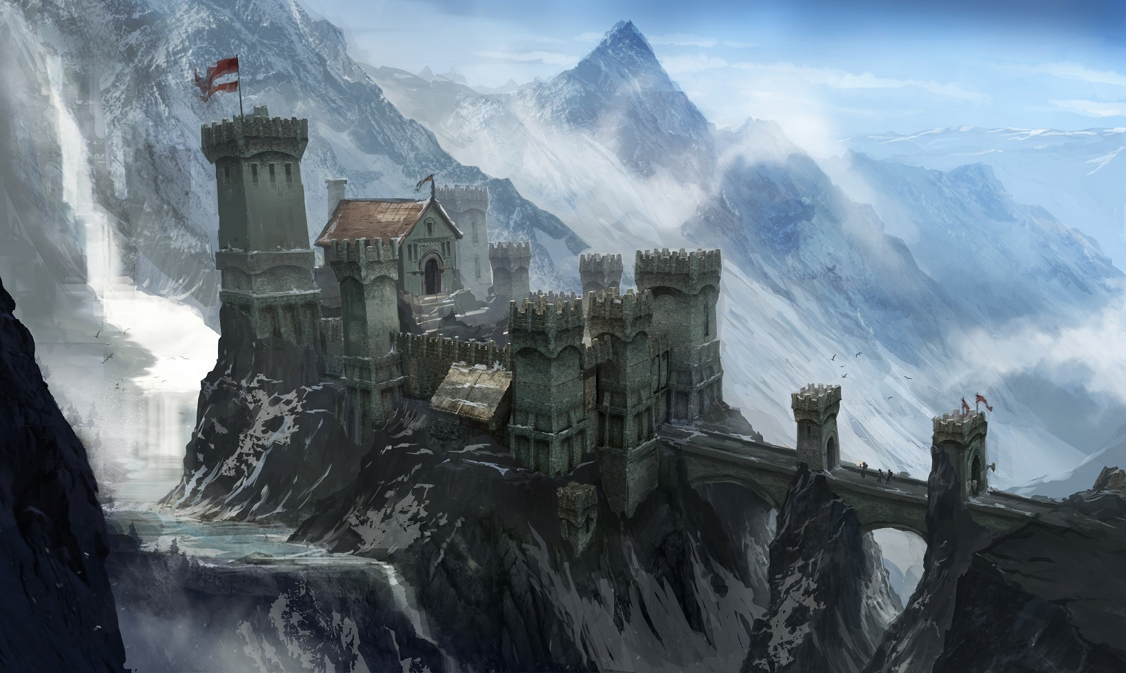 DA3 Concept 3 Dragon Age III: Inquisition concept art released!