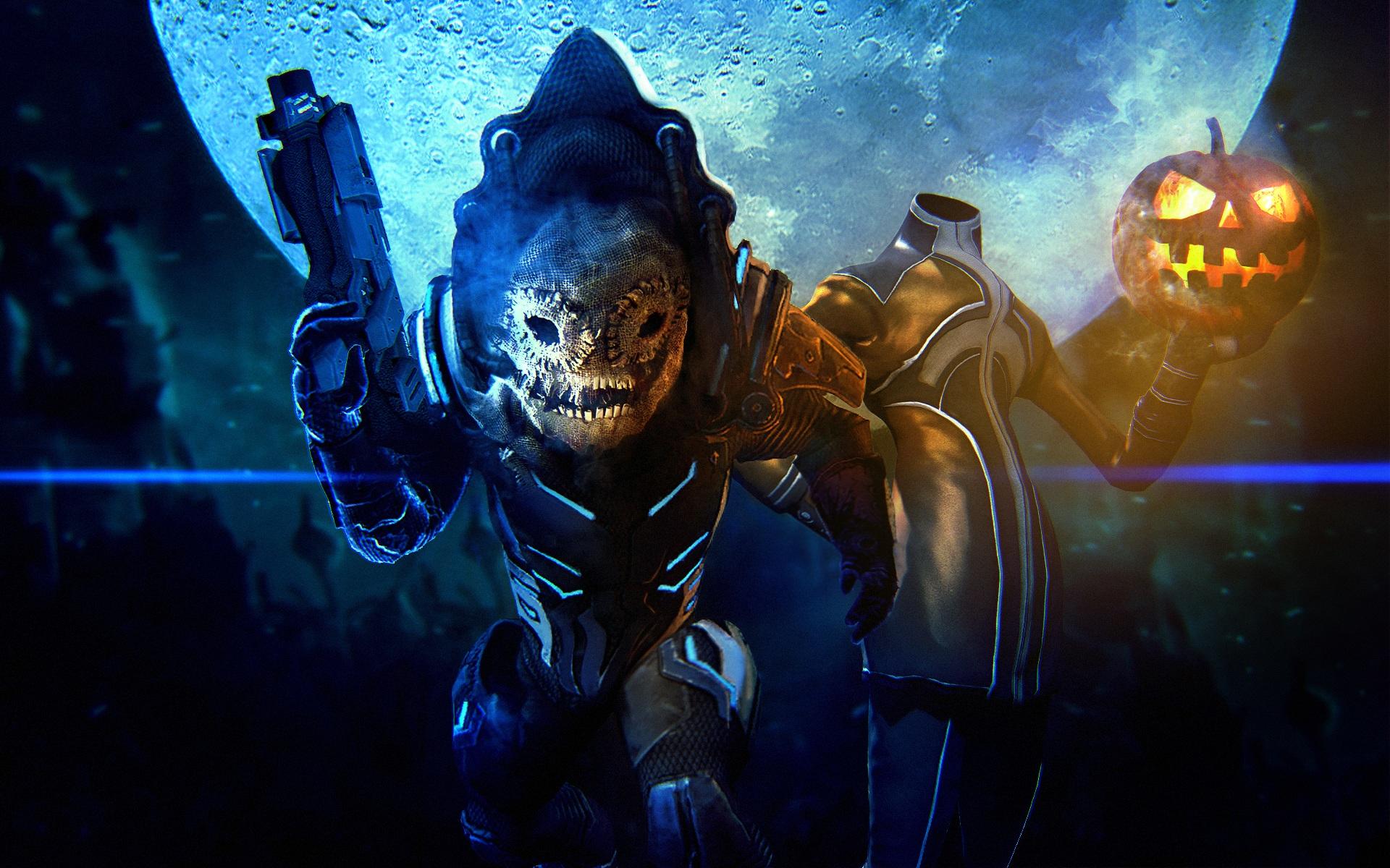 Mass Effect 3 Multiplayer Halloween Challenge Bioware Blog