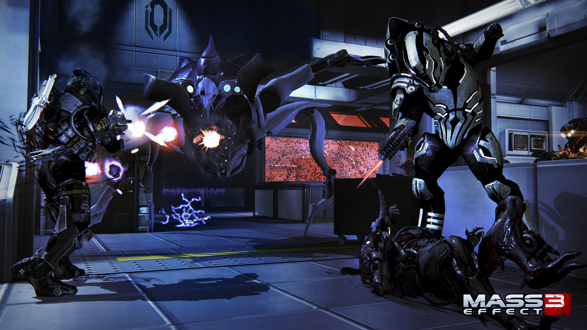 mass effect 3 how to get turians and krogan