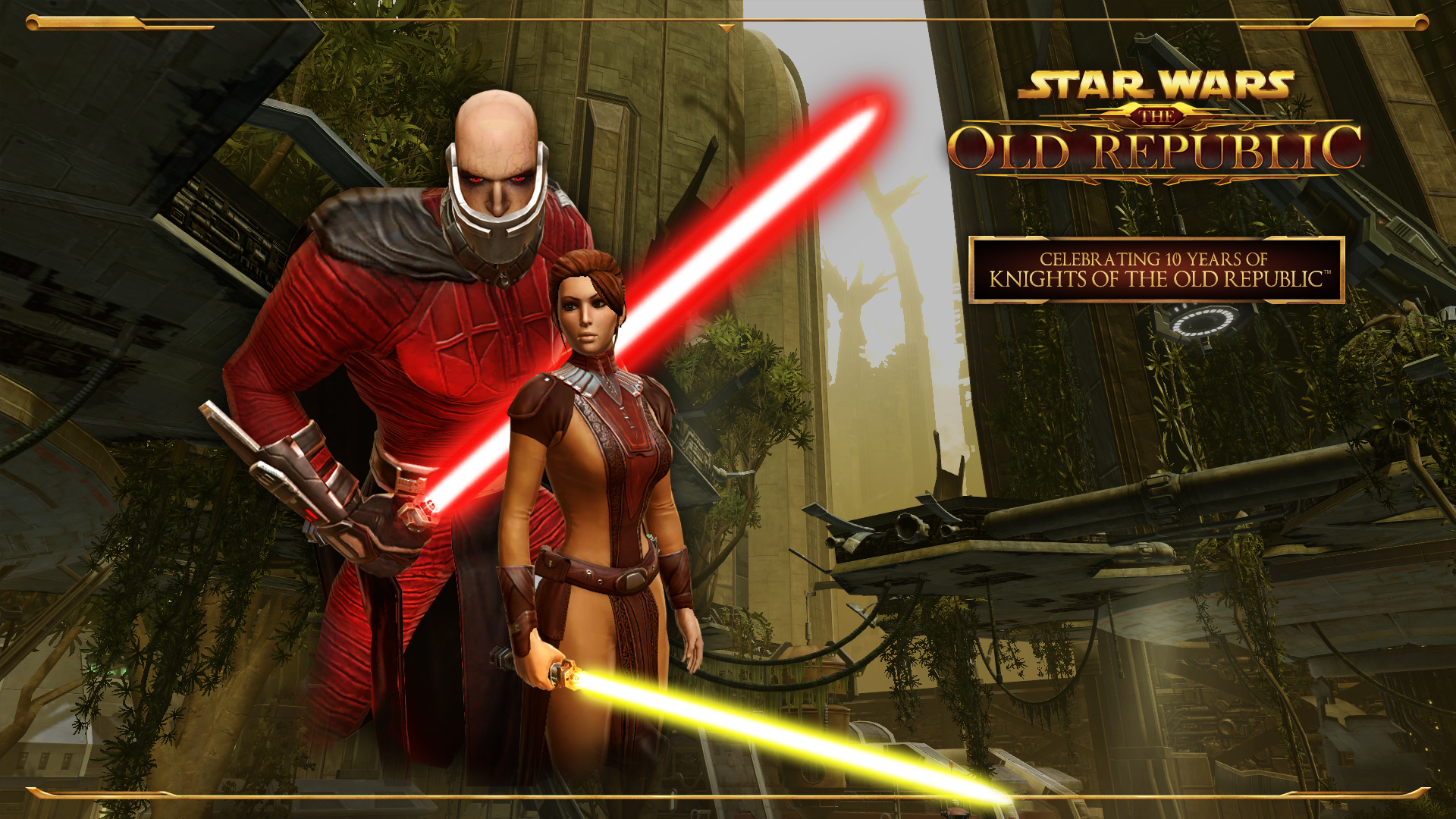 Kotor Is 10 Years Old Swtor And Bioware Celebrate Star Wars