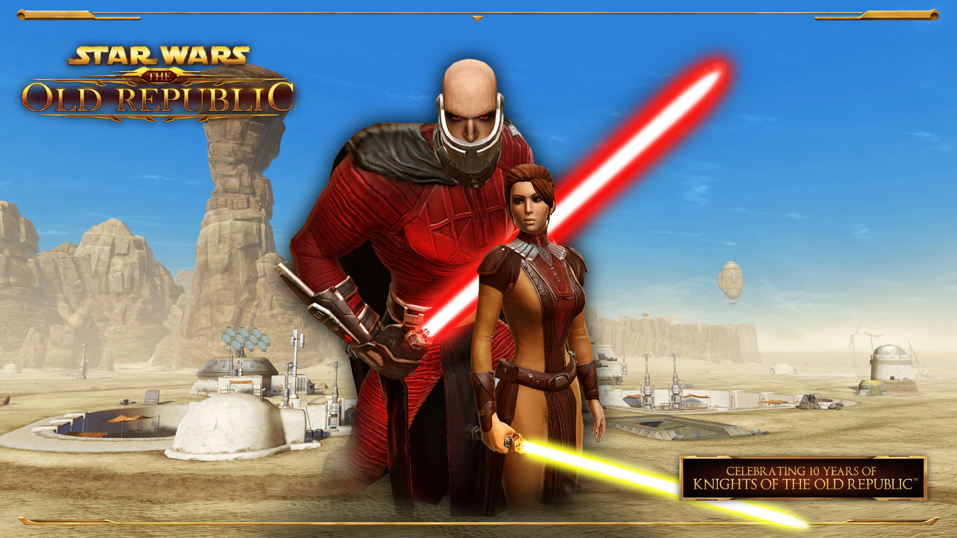 Bioware Celebrates The Tenth Anniversary Of Knights Of The