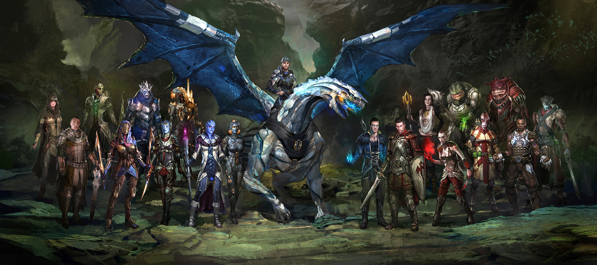 Dragon Age Bioware Video Games Rpg Fantasy Art: Fan Blog: Andrew Ryan, Artist