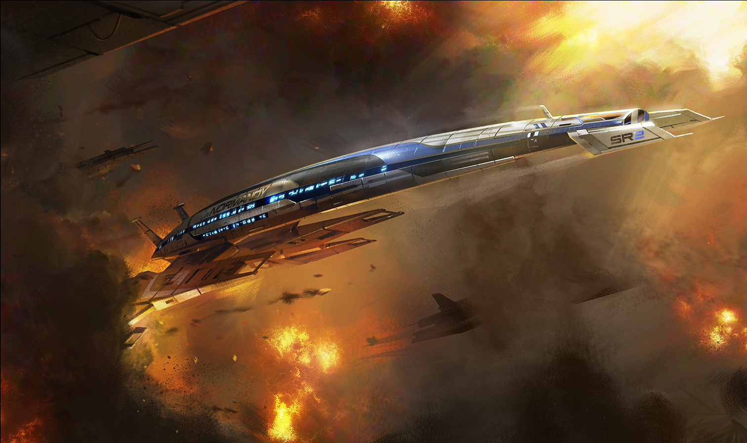 Revisit the Galaxy Aboard a New Mass Effect Theme Park Attraction