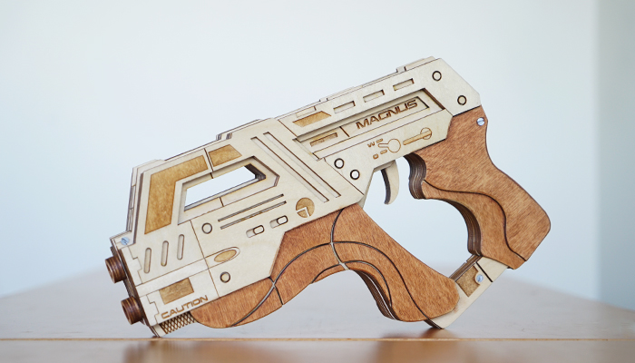 fan creation feature m6 carnifex rubber band gun