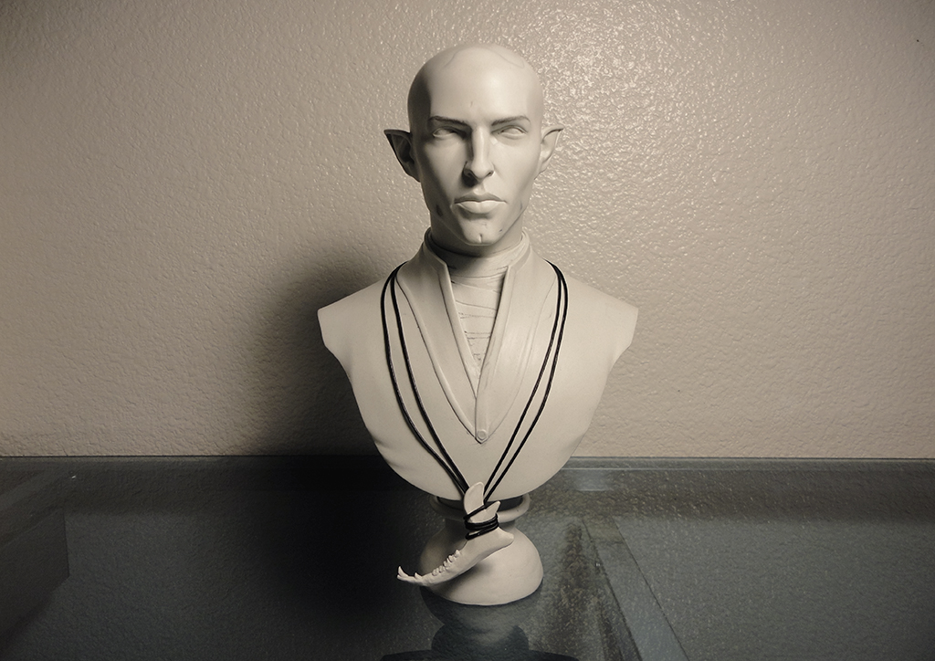 Fan Creation Feature: Solas Bust by Fenedhiss