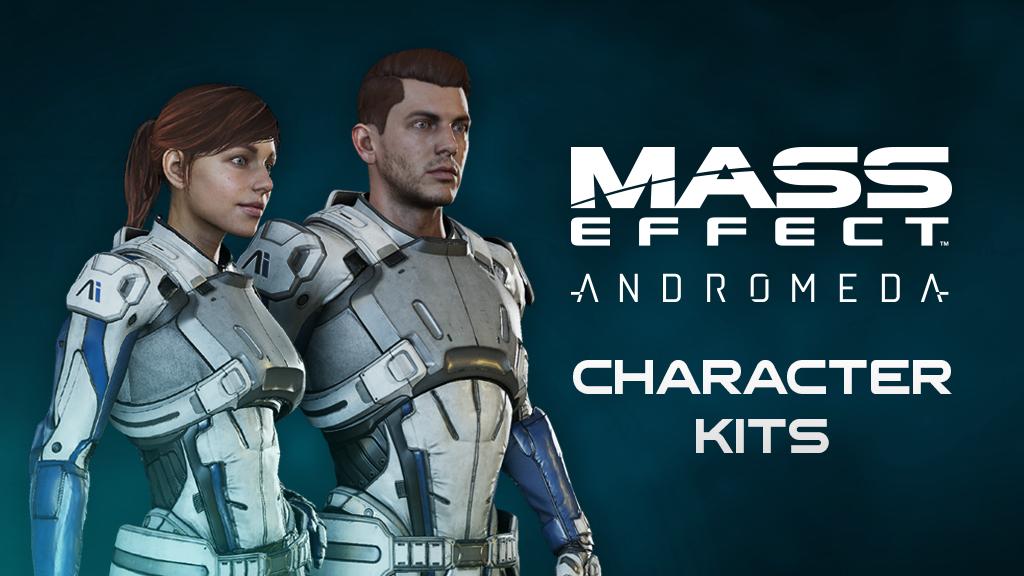 Mass Effect: Andromeda Character Kits