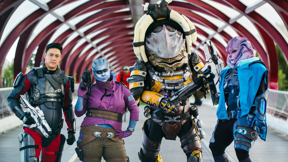Community Creation Feature: Andromeda Crew Cosplay